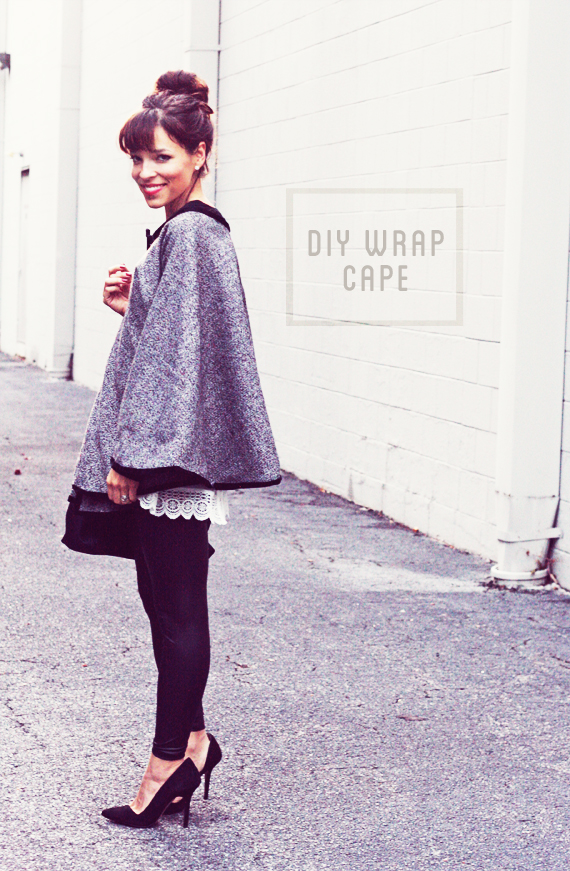 DIY Wrap Around Cape Tutorial In Honor Of Design Extraordinary Cape Patterns For Adults