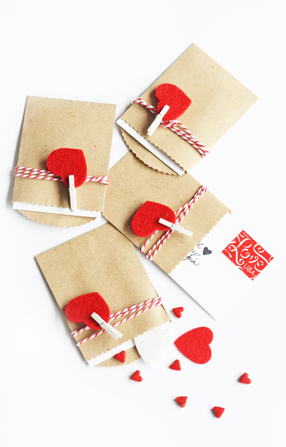 DIY+Valentines+felt+and+twine