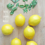 Lemon+and+mint+water-+skin+care