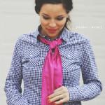 DIY+satin+bolo+tie+scarf