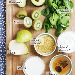 Clean Green Smoothie Ingredients | IHOD
