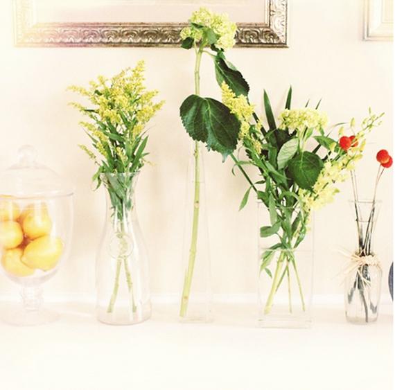 Floral vases via IHOD