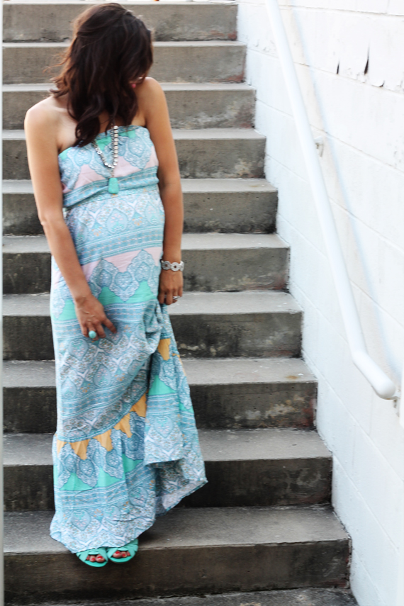 Printed Maxi | Impeccable Pig