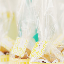 Muffin Top Favors | Summer Brunch | In Honor of Design
