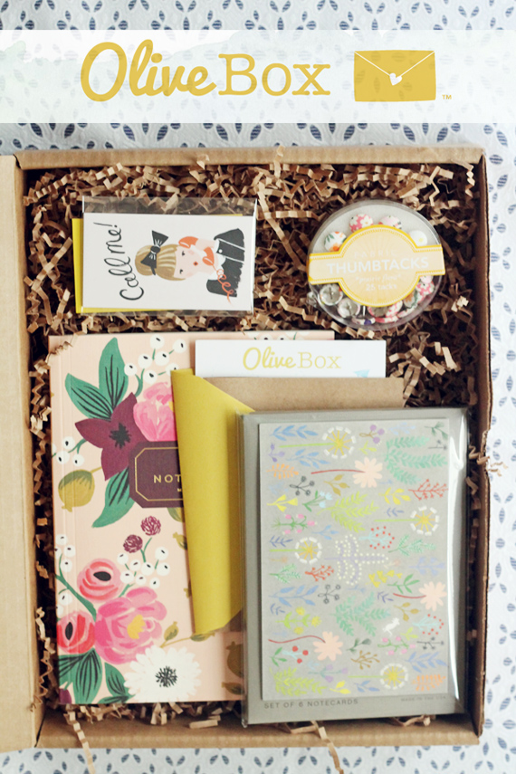 Olive Box | In Honor of Design