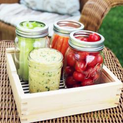 Pack Your Picnic - White Bean Hummus via IHOD