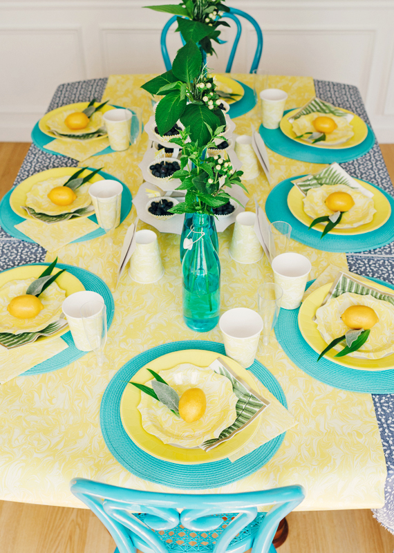 Summer Brunch Tablescape | In Honor of design