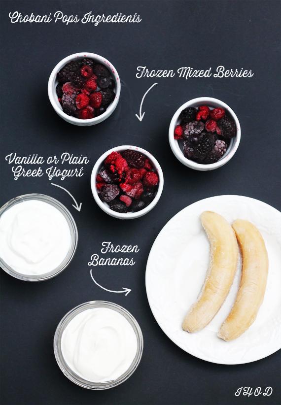 Chobani Pops Ingredients via IHOD