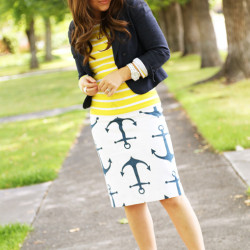 Dress Corilynn | Anchor Skirt