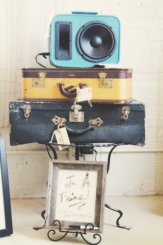 Local Notes-Provisions of Roswell-vintage luggage