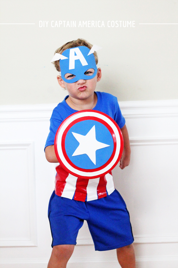 DIY Captain America Costume | IHOD