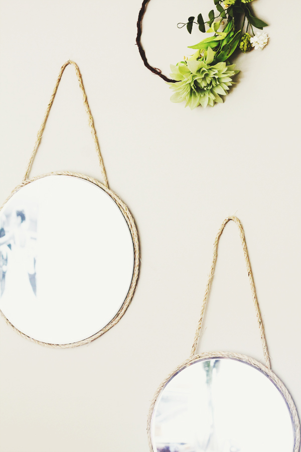 DIY Hanging Mirrors | IHOD