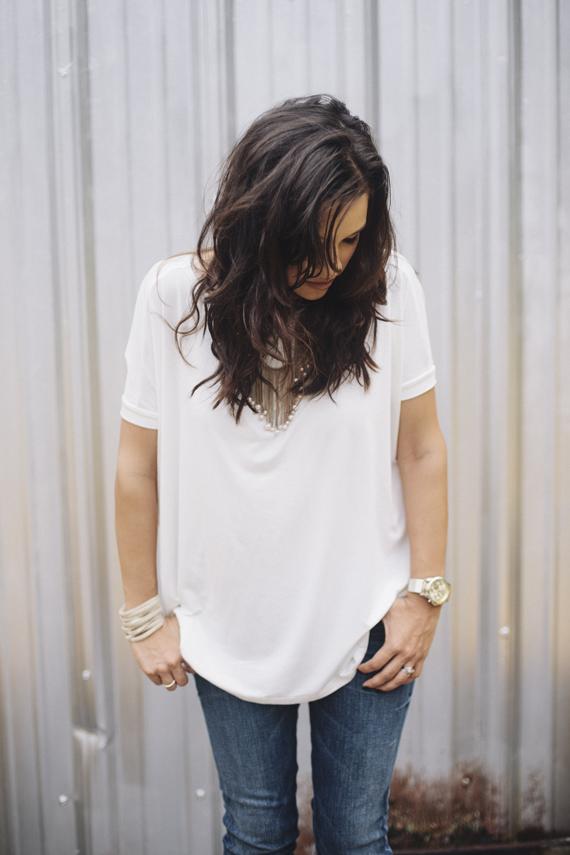Loose top + Jeans | IHOD