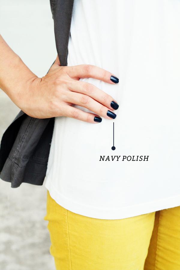 Navy Polish | IHOD