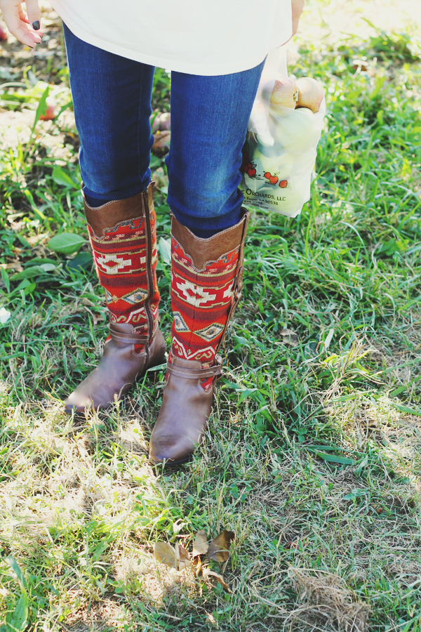 Printed Fall Boots | IHOD