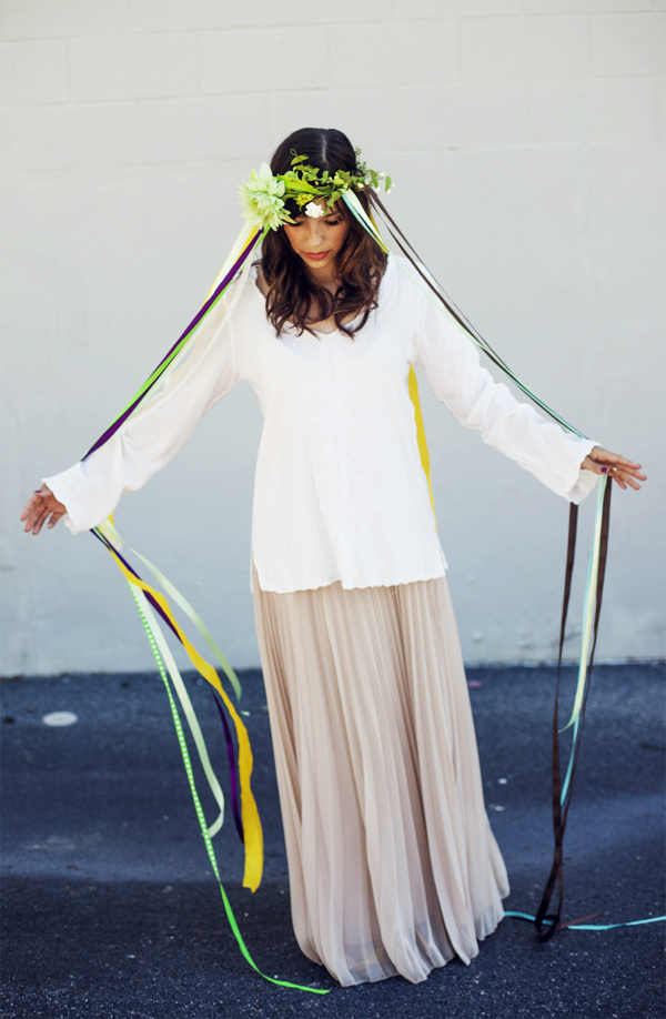 DIY Halloween Costume - Maypole - In Honor of Design