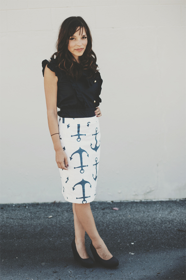 Dress Corilynn - Anchor Skirt