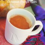 In Honor of Design - Cinnamon Orange Cider