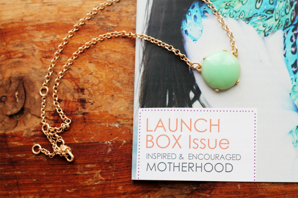 Launch Issue - Happy Mommy Box