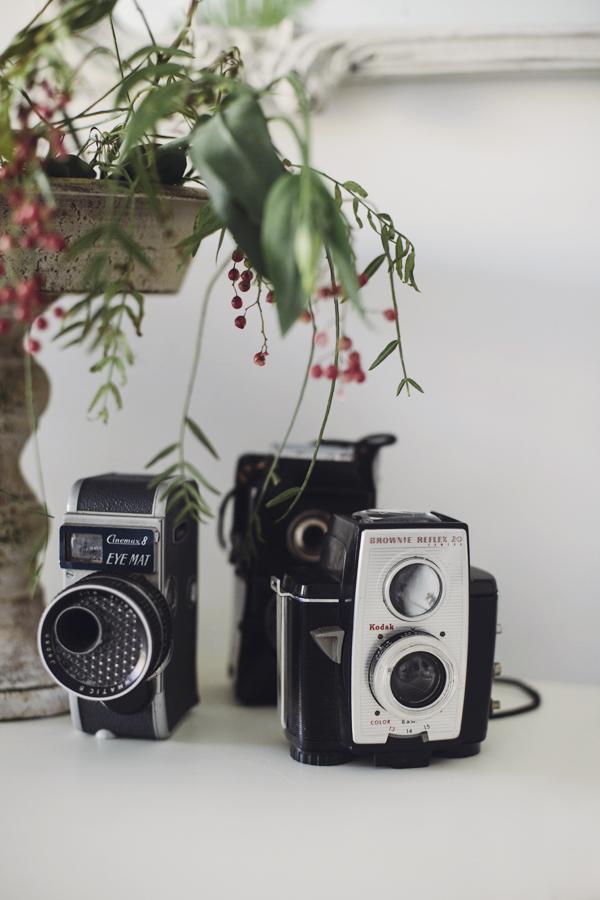 mini vintage cameras