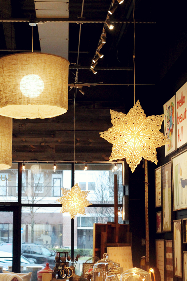 Hanging lights } Sugar Boo and Co