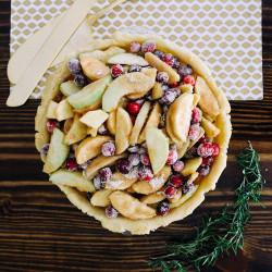 Winter Berry Pie