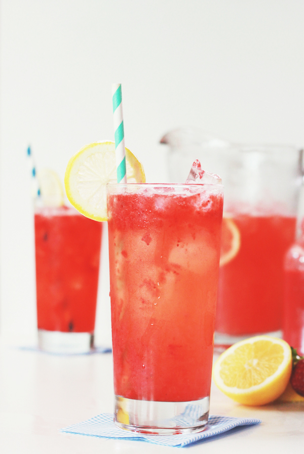 Strawberry lemonade is my ideal spring-time drink – refreshing and ...