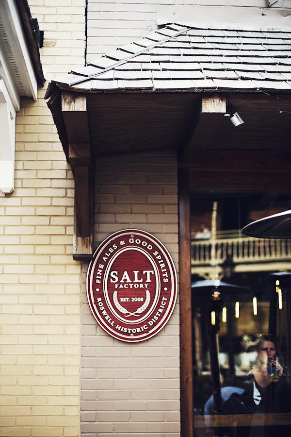 Salt Factory Pub - In Honor of Design