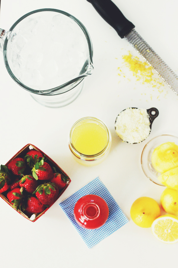strawberry lemonade | Stir & Scribble for IHOD copy