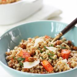 Farro Salad - Stir and Scribble for IHOD