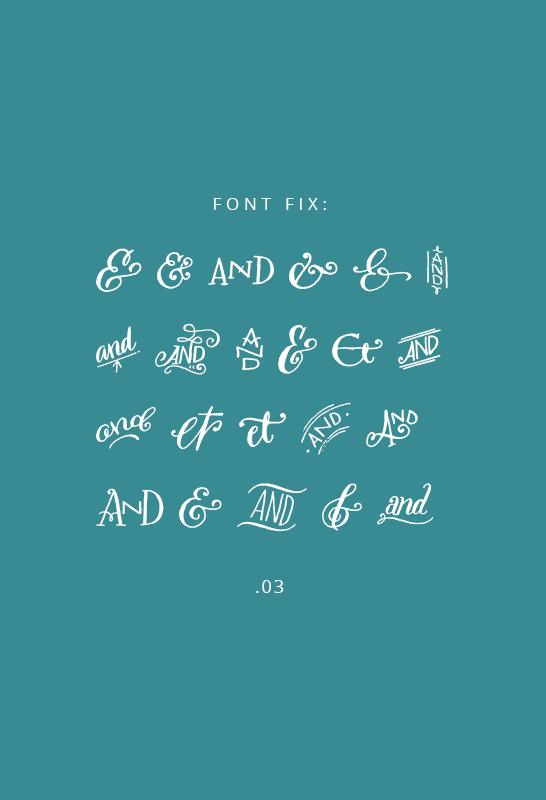 Font Fix- Bookeyed Sadie - IHOD