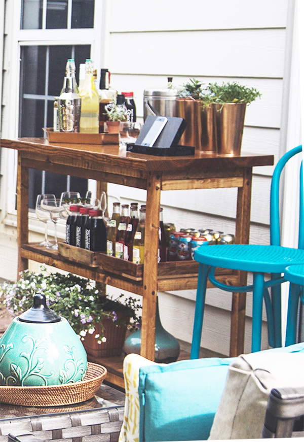 Outdoor Bar Cart| IHOD