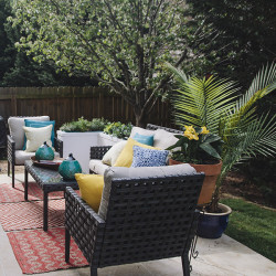 Outdoor patio | IHOD | Chelsey Heidorn Photography
