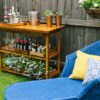 DIY Outdoor Bar Table | Kathryn McCrary Photography | In Honor of Design