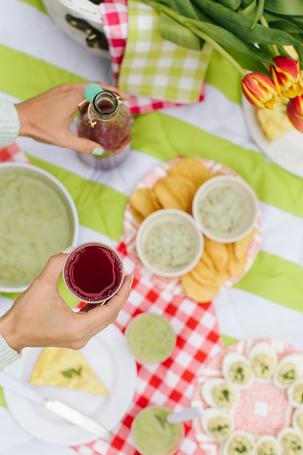 Picnic Recipes | In Honor of Design | Kathryn McCrary Photography