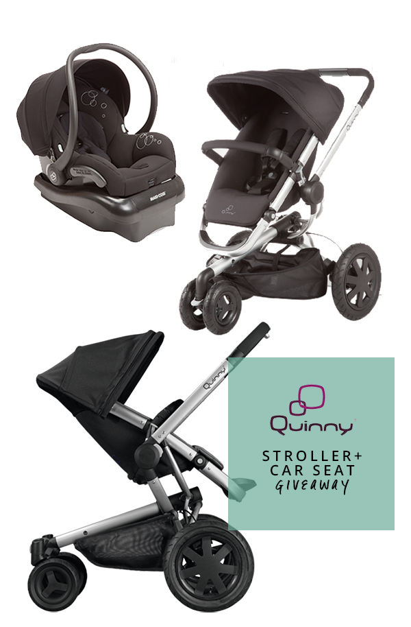 Quinny USA Stroller + Carseat Giveaway} In Honor of Design