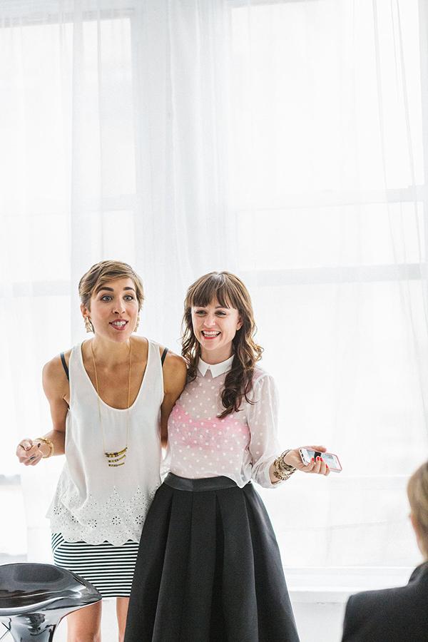 Jessie Artigue and Hilary Rushford