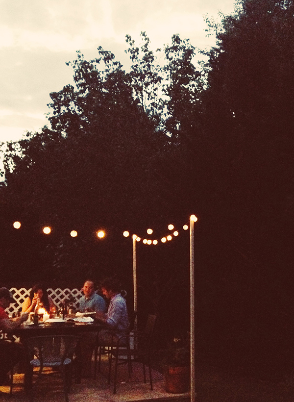 Outdoor Dinner Party via IHOD