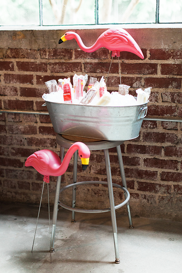 Flamingo Guardians | Photo by Haley Sheffield | www.inhonorofdesign.com