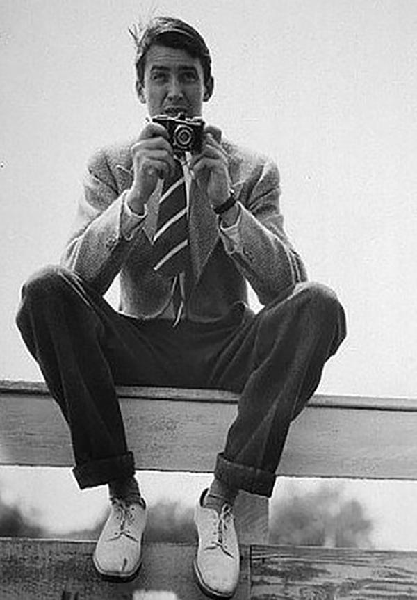 Jimmy Stewart via IHOD