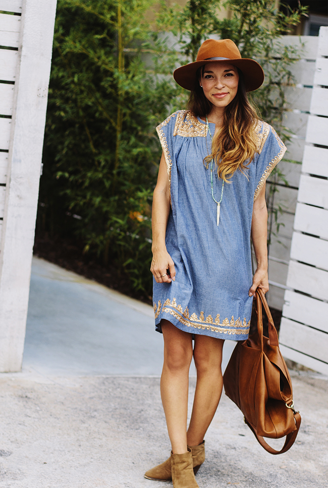 Chambray Dress // In Honor of Design