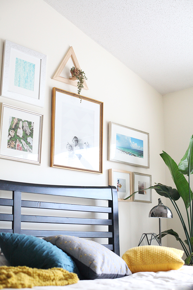 Bedroom Gallery Wall | IHOD
