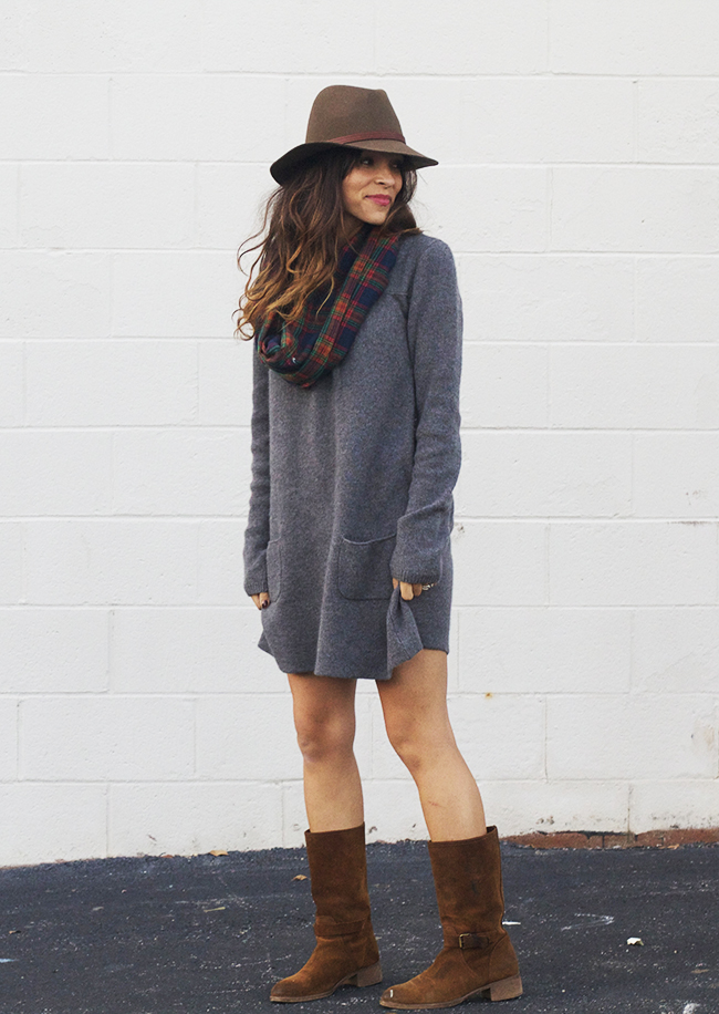 Sweater Dress | In Honor of Design