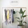 DIY Garment Rack | In Honor of Design
