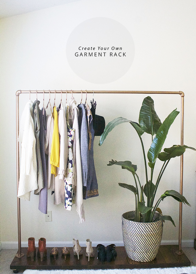 Diy Garment Clothing Rack In Honor Of Design