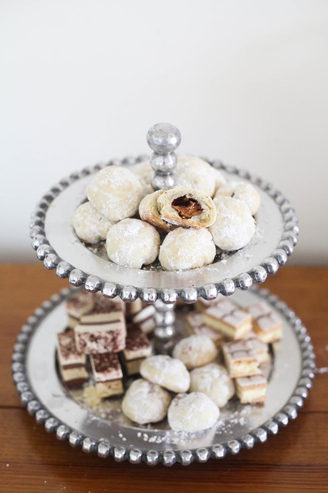 3 Ingredient Powder Puff Surprise Cookies | In Honor of Design