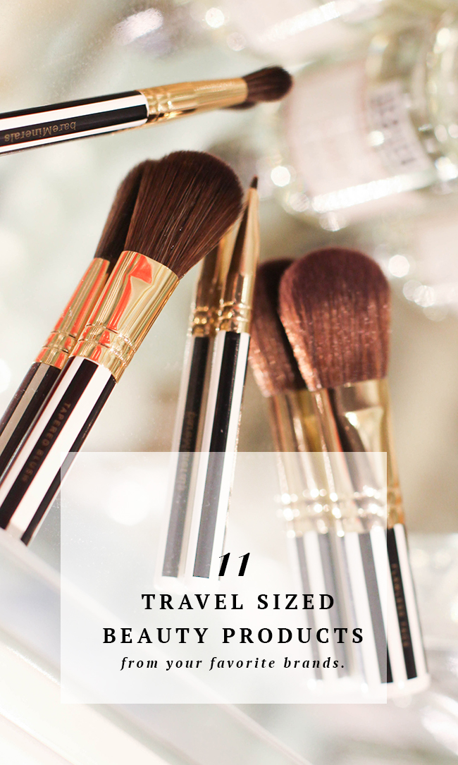 Travel Sized Beauty Products