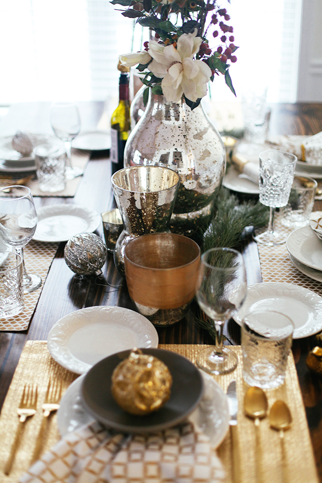 Christmas Table Settings | In Honor of Design