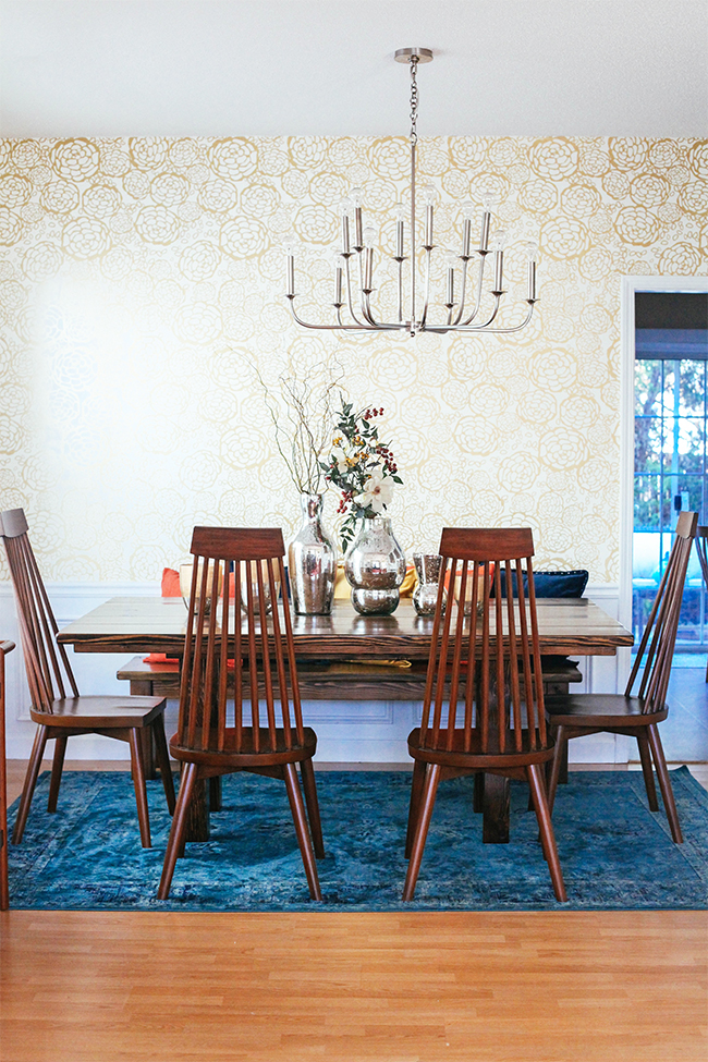 Dining room makeover | In Honor of Design