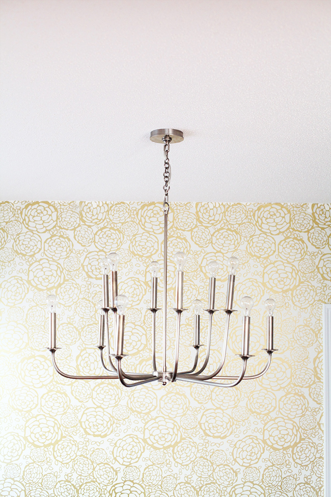 Statement Chandelier | In Honor of Design